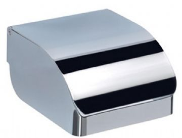 Gedy Covered Toilet Roll Holder Chrome 2525-13